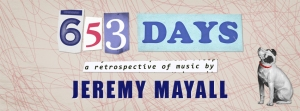 653 Days Concert Facebook Cover Image with Dog