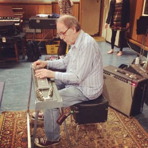 John Egenes on pedal steel