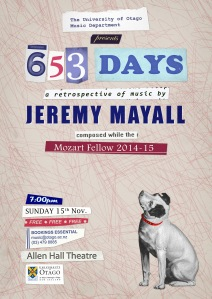 653 Days Concert Poster 02